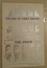 DUKE OF YORK'S THEATRE: ALBERT SALMI KATE REID HAROLD GARY in THE PRICE