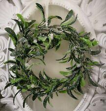 Türkranz Mistel Adventskranz Mistelkranz Weihnachten Shabby Chic Vintage  28cm