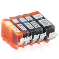 5 NON-OEM INK Canon PGI-221 CLI-221 MP990 iP4700 MP560 MP640 MP620 iP3600 iP4600