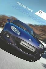 Mazda MX5 Brochure 2011 36 pages Excellent Condition inc 1.8SE 2.0iPowershift