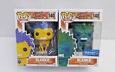 Funko Pop! Street Fighter: Lot of 2  BLANKA 140 Think Geek! / Wal-Mart Exclusive
