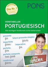 NEU: PONS Verbtabellen PORTUGIESISCH - portugiesische Verben und Zeiten lernen