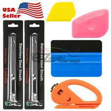 Elite Vehicle Wrap Vinyl Tools Kit Scratchfree Squeegee Razor Gloves Magnets 14