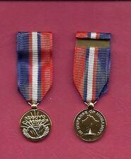 US Kosovo Campaign Anodized mini miniature medal
