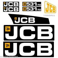 JCB 531-70 Decals Stickers kit 531-70 Telehandler New Repro Decals Laminated