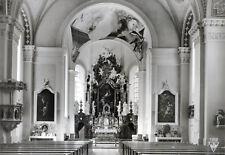 Ältere SW-Ansichtskarte der Pfarrkirche Steinach am Brenner Innenansicht  (061)