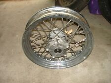 harley davidson front wheel twisted spokes