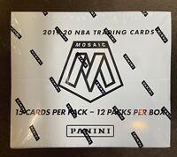 2019-2020 PANINI MOSAIC CELLO BASKETBALL 12 PACK SEALED BOX NBA ZION JA SHIP NOW