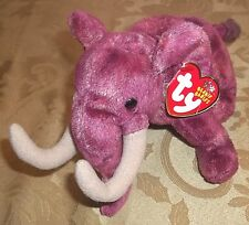 TY Beanie Babies COLOSSO Mammouth Elephant NWT 2003 Retired HTF 9 inches PLUSH