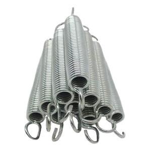 """10x Solid Trampoline Springs 3.5 """"'4.5' '5' '5.5' '6.5' 'Spring Repair"""