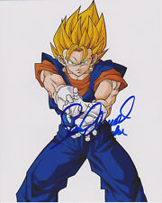 Dragon Ball Z Voix de Vegito Sean Schemmel Signé 8X10 Photo