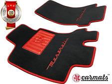 Exclusive Design Front Mats, Floor Mats, Carpets fit Maserati GranTurismo [LHD*]