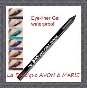 Eye Tatoo Liner Gel Pencil Eye Contour Big Paint Pencil Waterproof Avon