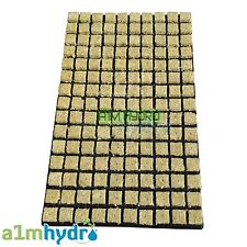 Grodan 25mm SBS Rockwool Propagation Grow Cubes Tray Of 150 Starter Hydroponics