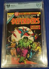 Defenders Annual #1 1976 Dr.Strange/Hulk CBCS 9.8 White Pages not cgc