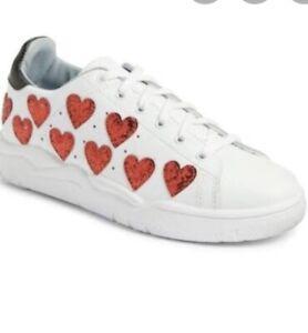 chiara ferragni Heart Roger Sneakers. Size 36. Brand New In Box. $69. RRP $399
