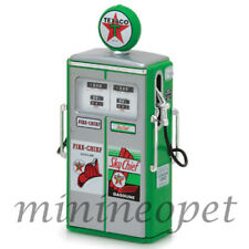 GREENLIGHT 14020 C 1954 TOKHEIM 350 TEXACO TWIN  GASOLINE GAS PUMP 1/18 GREEN