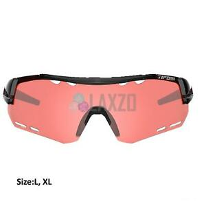 Tifosi Alliant Crystal Black Enliven Bike Red Lens Sunglasses 2020