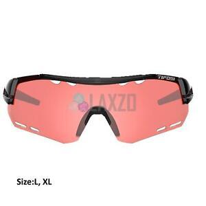 Tifosi Alliant Crystal Black Enliven Bike Red Lens Sunglasses 2020