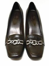COLE HAAN Brown Leather Heels Size 9 B