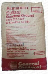Aluminum Sulfate Granular Fertilizer (Helps Lower Soil pH) Azaleas, Hydrangea