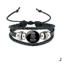 Damen Herren Surferarmband Arabisch Allah Persisch Islam Geschenk Bracelet القرآ