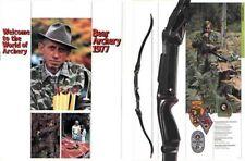 Bear 1977 Archery Catalog