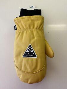 NEW W/ TAGS- NEFF WORK MITT, Ski Snowboard Mittens Gloves Size L