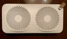 Hitachi High Performance Bluetooth Speaker : White; indoors/ outdoors! Offers?!