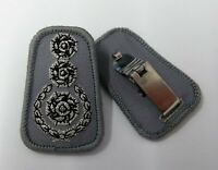 Genuine Fire Service Issue Snap Clip Tunic Rank Badge Insignia Rank CFO ASPS02