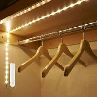 1M/2M/3M Motion Activated LED Strip Night Light PIR Sensor Under Bed Lighting