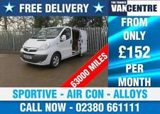 Vivaro SWB Commercial Vans & Pickups with Alarm