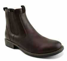 Eastland Men's Daily Double Chelsea Boots Dark Brown Size 8.5 M