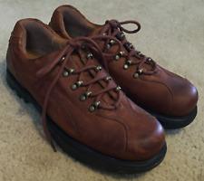 Women's Unisex Earth Detonator Brown Leather Lace Up Oxfords Shoes M/6.5 - W/8.5