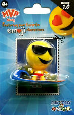NEW 2016 Fun 2 Play Toy MVP Mini TANNER Shades Surfer EMOJI Character PVC FIGURE