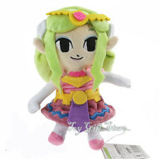 "New Legend of Zelda Plush Doll Princess 7.5"""