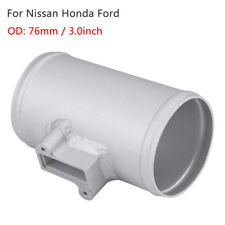 76mm Car Air Flow Sensor Adapter Air Intake Meter Mount For Nissan Honda Ford