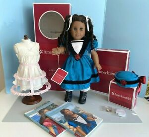 American Girl CÉCILE Doll, Meet, Accessories, Books, Crinoline/Chemise, Boxes