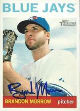 Brandon Morrow Toronto Blue Jays 2013 Topps Heritage Signed Card