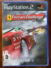 Ferrari Challenge PS2 Juego Trofeo Pirelli Sony Playstation 2 Racer Juego De Carreras