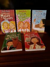 Enid Blyton Malory Towers Series #1 - #5 Books Lot