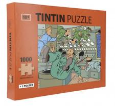 Puzzle: Tintin dans l'espace.TINTIN  MOULINSART 81550. NEUF