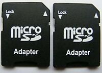 MICRO SD SDHC MEMORY CARD ADAPTOR ADAPTER CONVERTER TO STANDARD SD *~UK STOCK~*