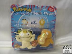 Pokemon Battle Playset - Meowth vs. Psyduck