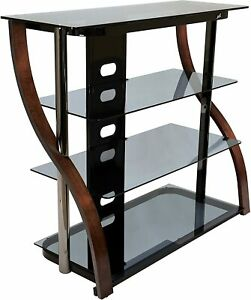 "Bell`O CW340 40"" Tall TV Stand for TVs up to 42"", Espresso"