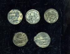 Lot 5 Coin Morrocco Felus Low Quality   1206 / 38- (1792/1822 Chris era)