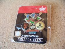 2008 SF San Francisco Giants vs KC Kansas City Royals Interleague pin MLB