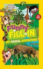 Funny Fill-In : My Animal Adventure by Ruth Musgrave (2013, Paperback)