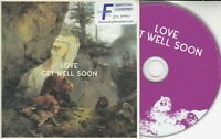 GET WELL SOON Love 2016 UK 11-track promo CD + press release