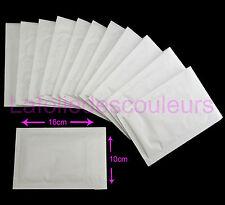 Lot de 12 Enveloppes bulles - pochettes - 10 x 16 cm blanc - 12 padded envelopes